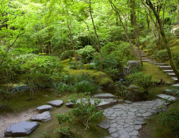 Portland Japanese Garden Garden Spaces