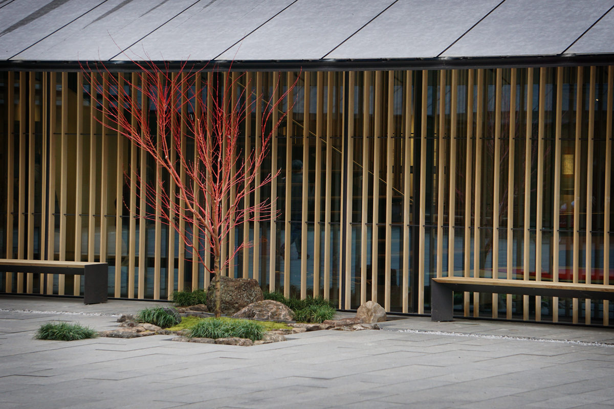 Grand Opening Cultural Village Shots - 2017-03-30 - Tsubo-Niwa from accross the Tateuchi Courtyard. Photo by Tyler Quinn