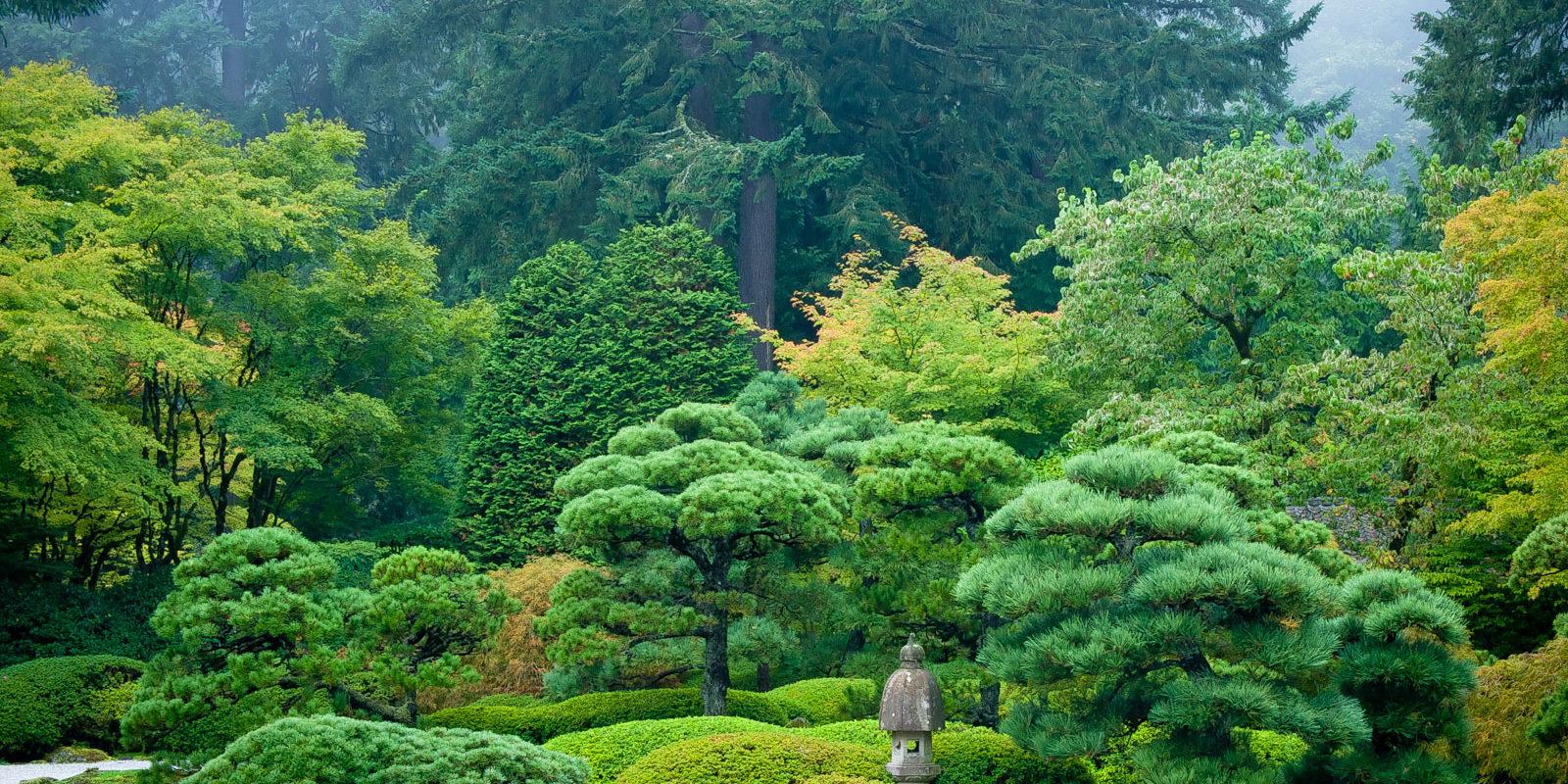Japanese Garden flat garden – portland japanese garden