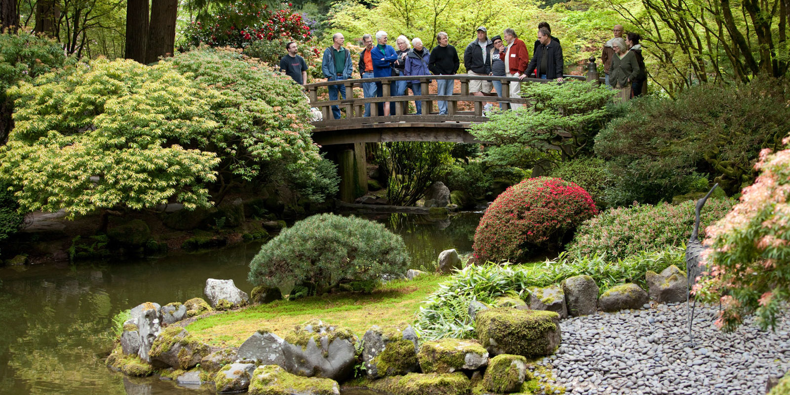 volunteer portland japanese garden