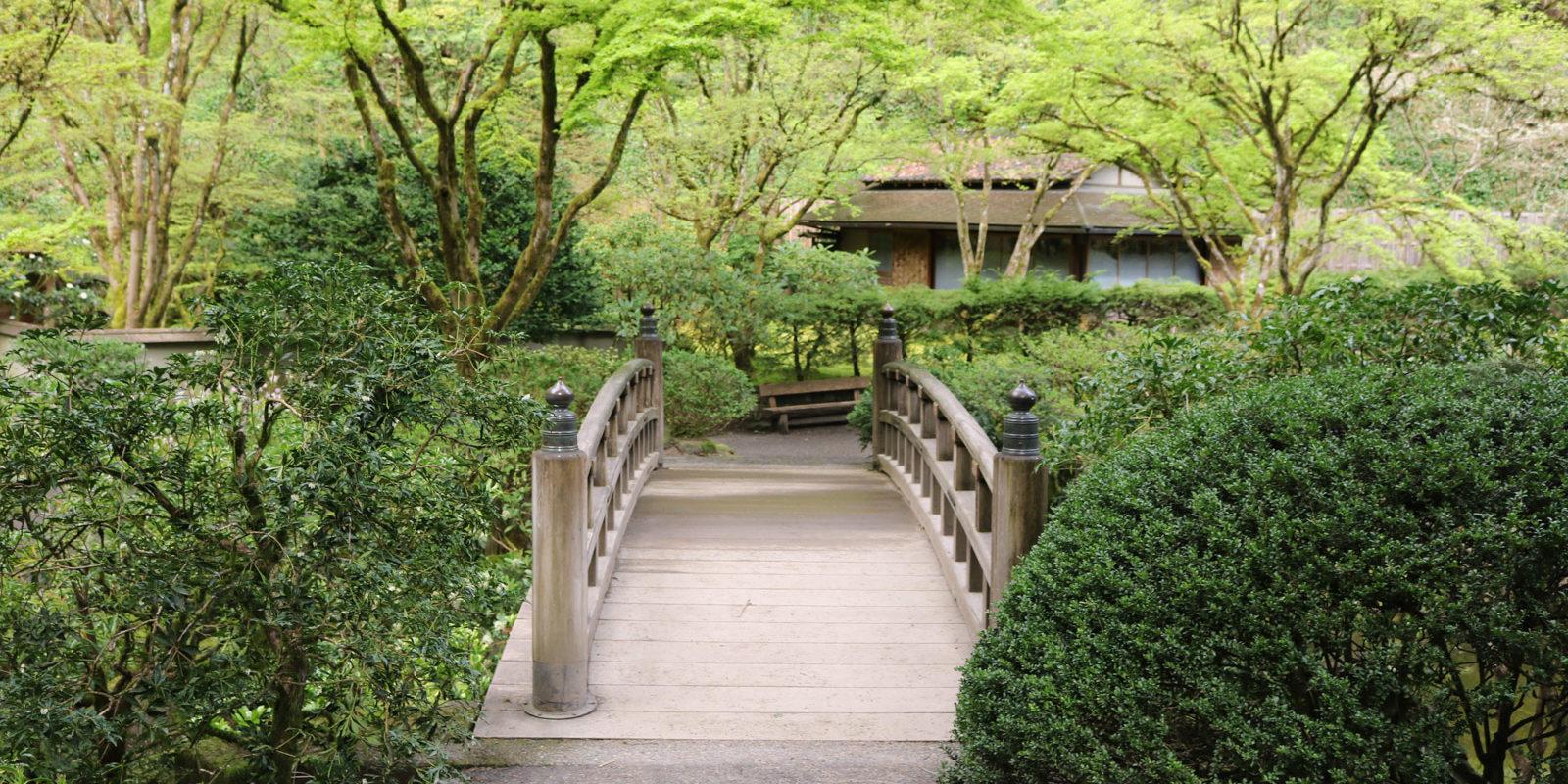 April In The Garden Portland Japanese Garden