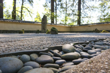 Japanese Garden Stones Sand and stone garden portland japanese garden early morning sunlight trickles throughout the sand and stone garden photo by julia taylor workwithnaturefo