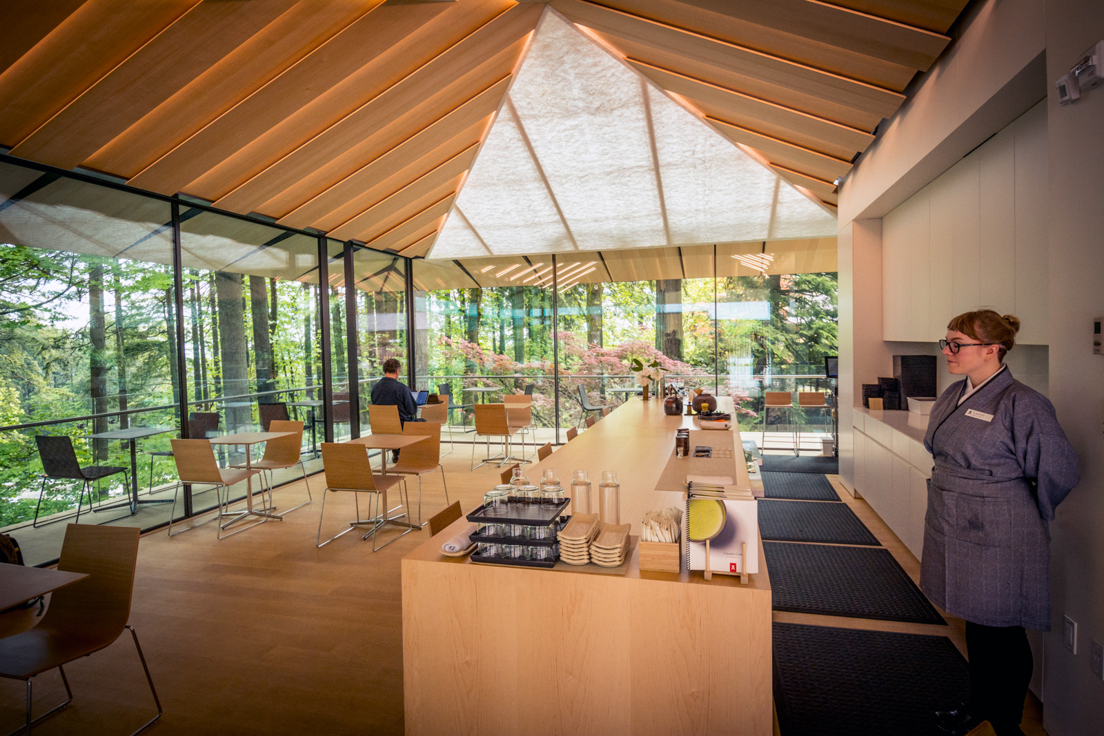 Umami Caf Portland Japanese Garden