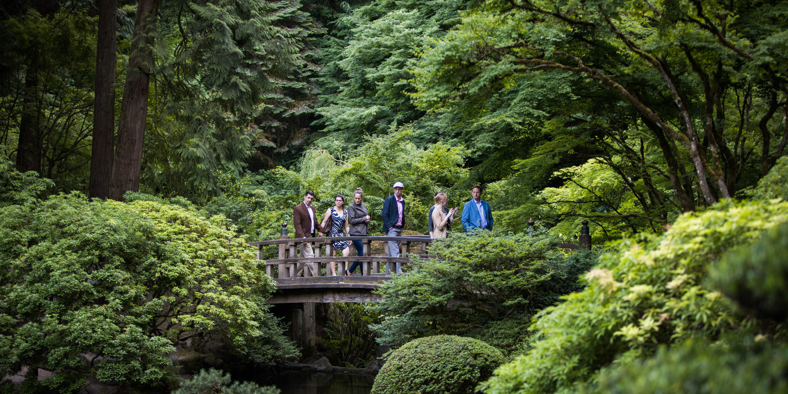 Twilight Hours Portland Japanese Garden