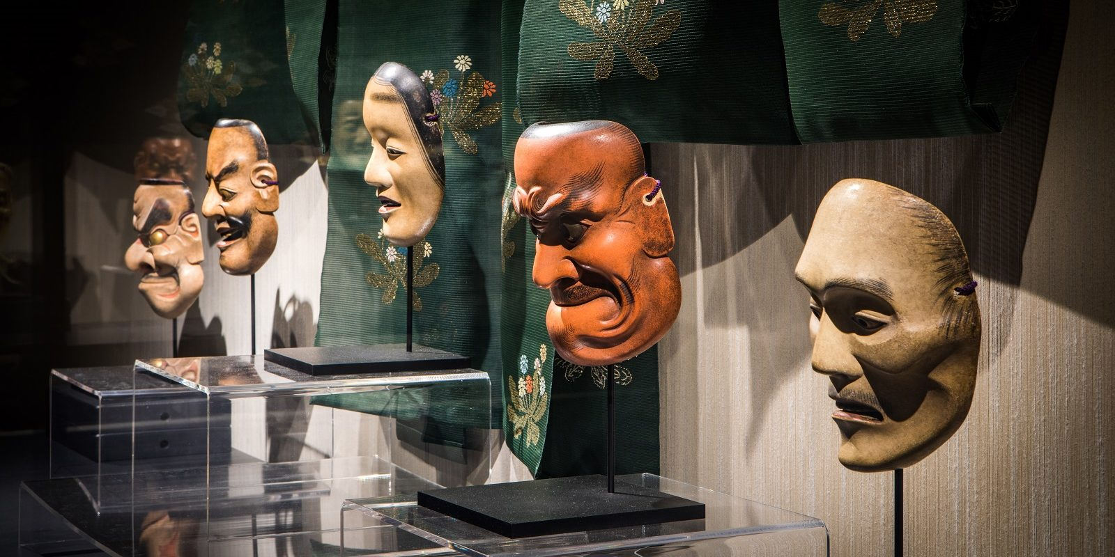 Mirrors of the Mind: The Noh Masks of Ohtsuki Kokun