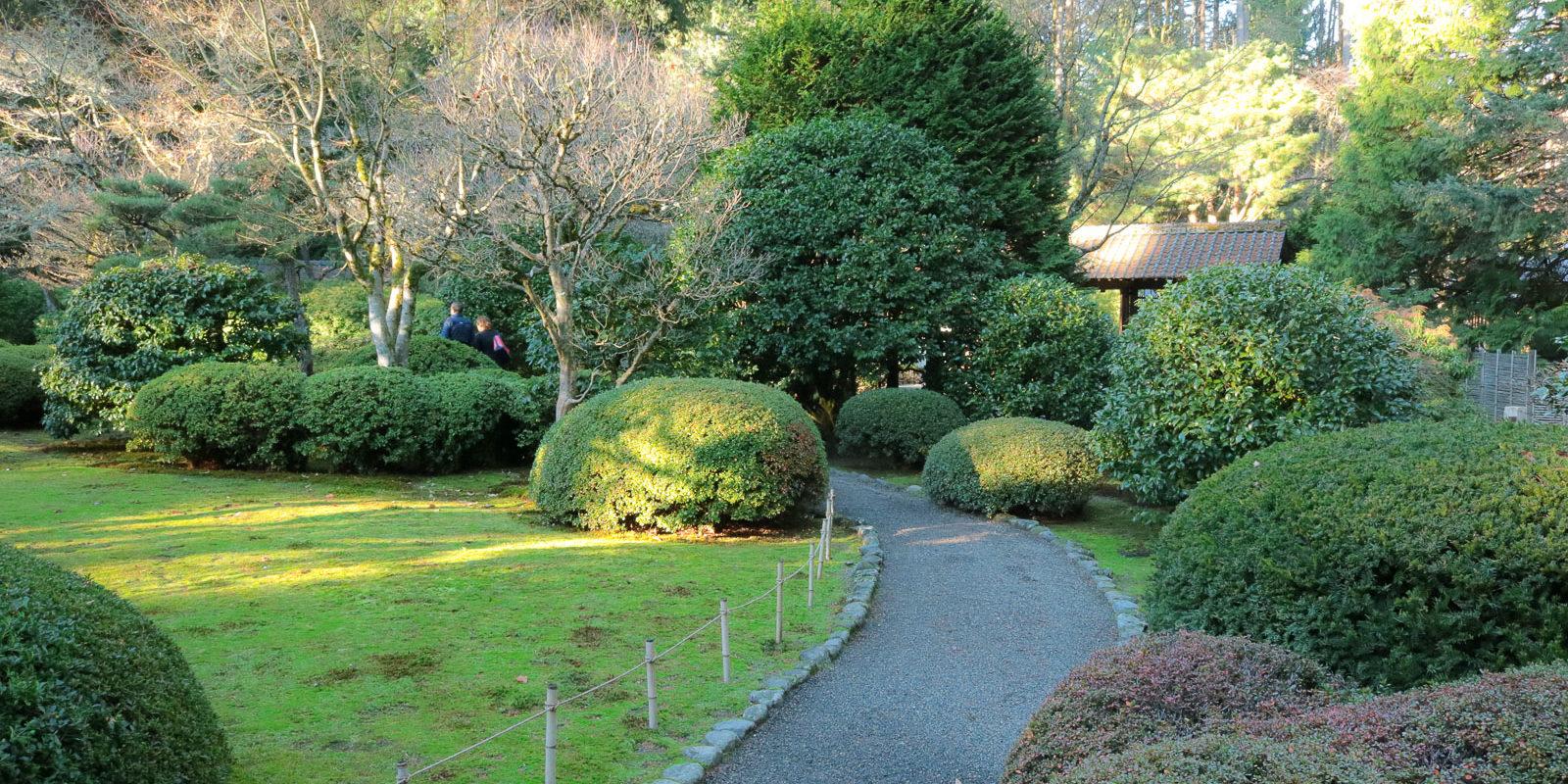 A wintry walk through the garden portland japanese garden - When you walk through the garden ...