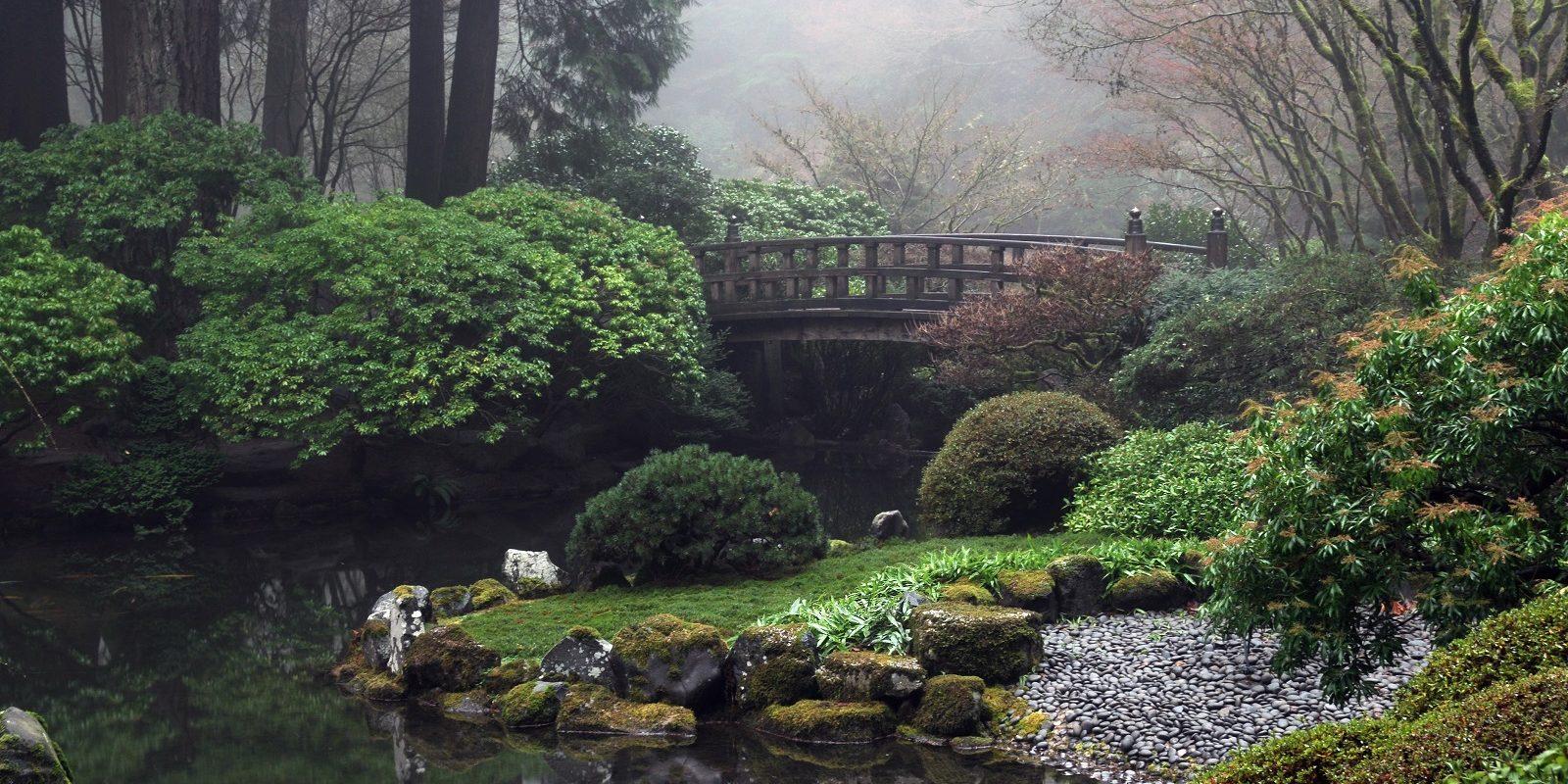 Winter Reveals The Bones Of The Garden Portland Japanese Garden