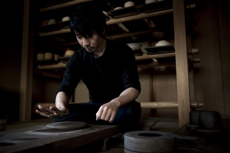Ogawa Choraku (raku tea ceramics)