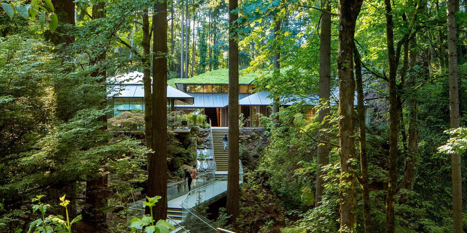 Kengo Kuma Portland Japanese Garden
