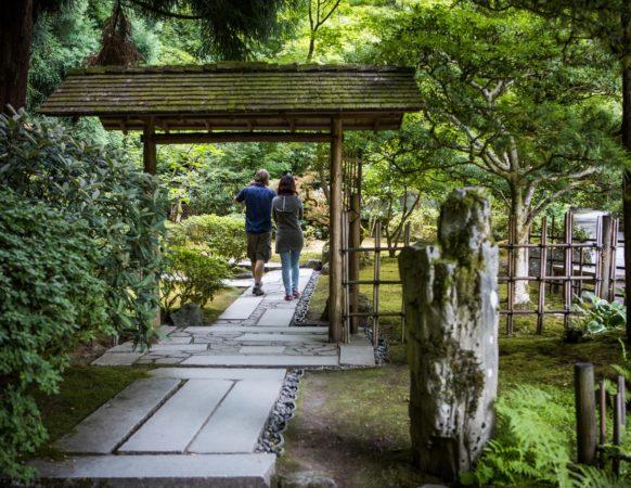 News Photos Portland Japanese Garden