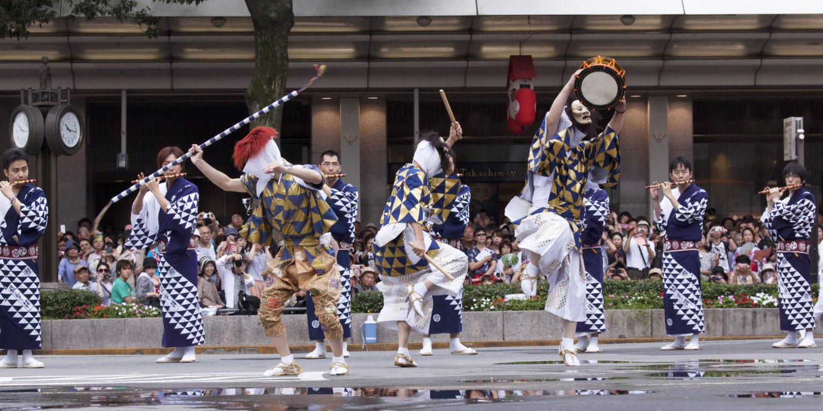 Gion Matsuri Photos for Press. Photo by Akira Nakata. 祗園祭、巡行、綾傘鉾__MG_7831
