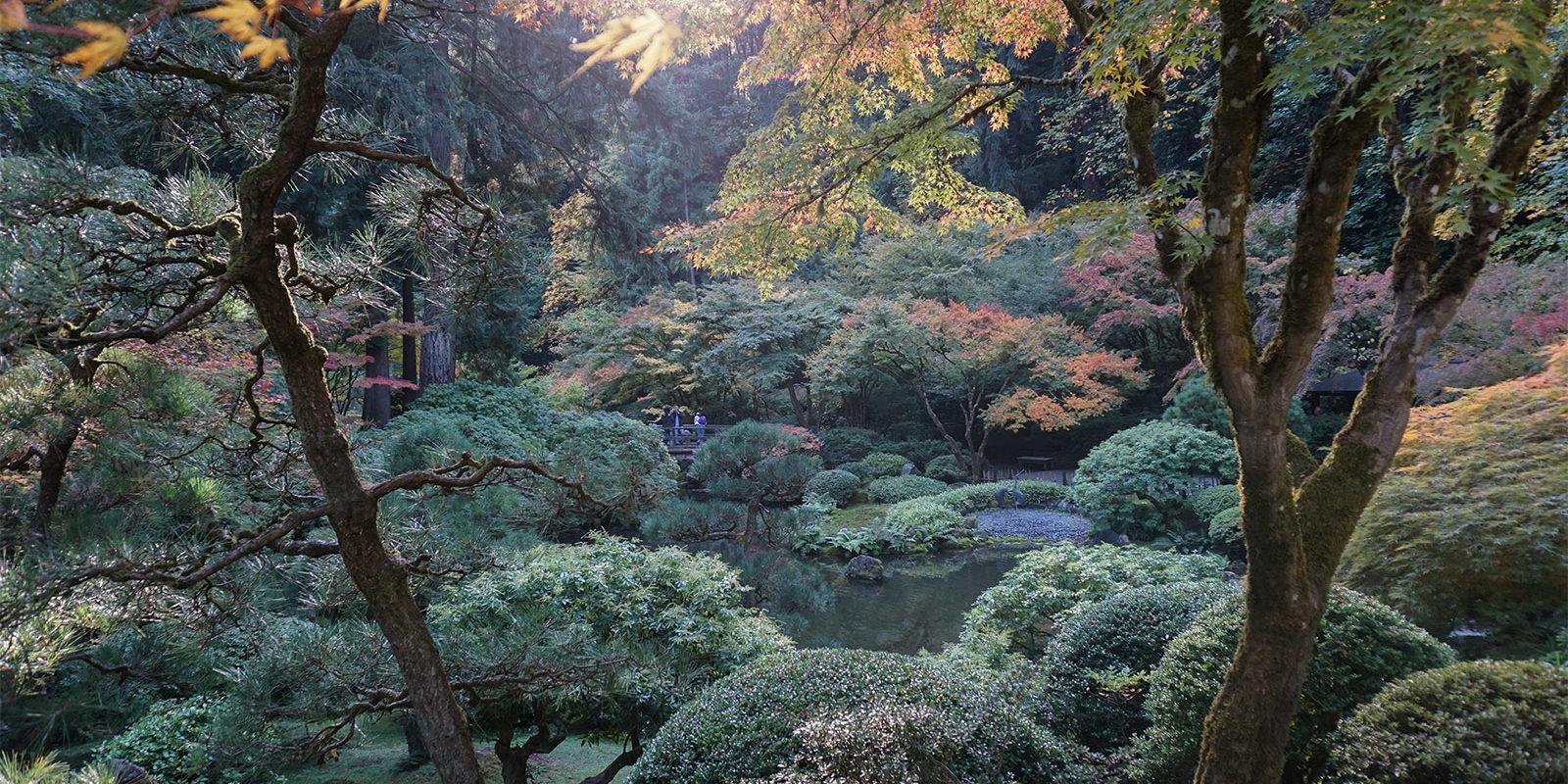 October Fall Photos of Portland Japanese Garden - 2018-10-22 - DSC01057_low