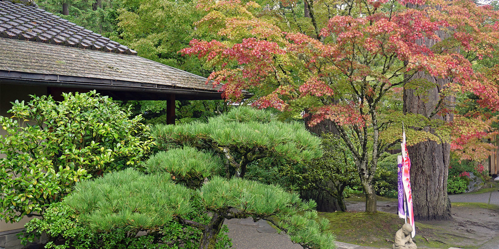 Portland Japanese Garden Early Fall Colors by Tyler Quinn - 2018-10-09 - DSC00965_low