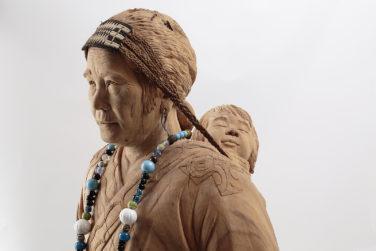 Statue of Fusa Sugimura, by Takeki Fujito