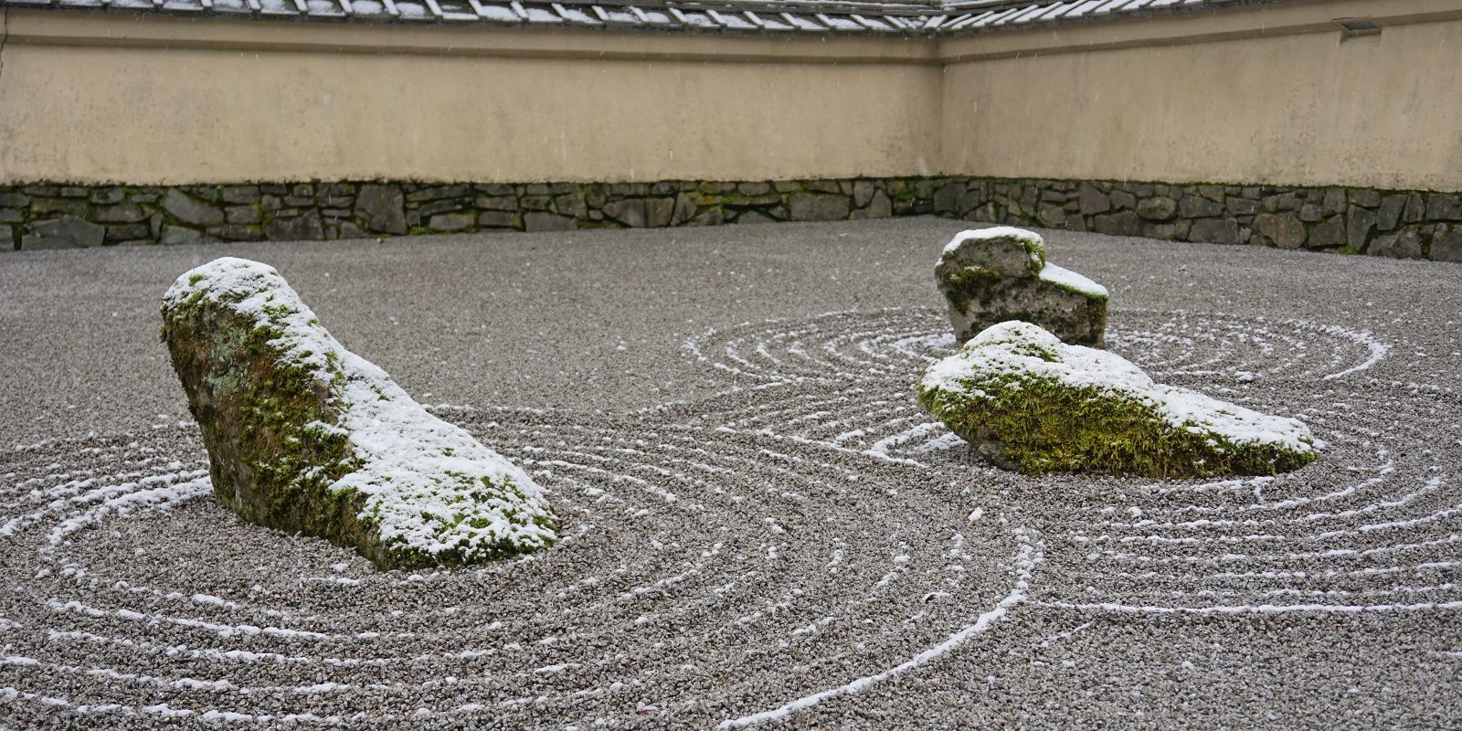 Garden with Snow in Winter. Photos by Tyler Quinn - 2019-02-25 - DSC02293